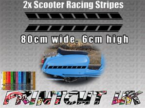 Scooter Racing Stripes Stickers for Scomadi, Vespa, Lambretta, LML, Royalloy, F